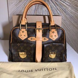 🦄  Excellent cond. 💖 Louis Vuitton Manhattan GM.